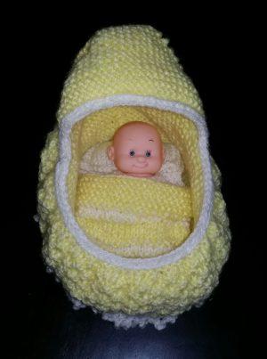 Lemon Cradle Bag