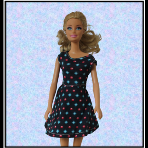 Barbie Blue Sparkle Dress