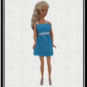 Barbie Blue Spot Summer Dress