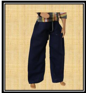 Ken Blue trousers