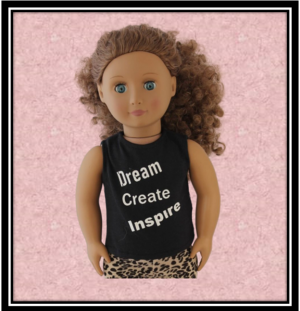 Our Generation Dream Create Inspire Tshirt