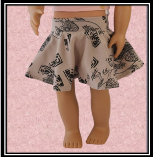 Our Generation Egyptian Geese Circle Skirt