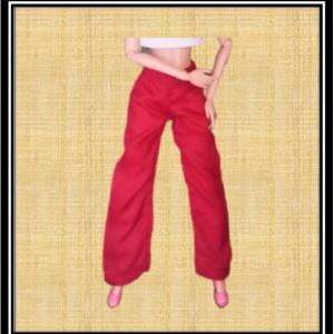 Barbie Slacks Red