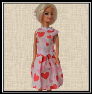 Barbie Summer Dress with Hearts